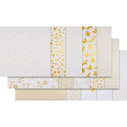 Artemio Designpapier Japan Golden Foil, 30 Bogen