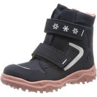 Superfit Kinder-Klett-Boots in blau/rosa