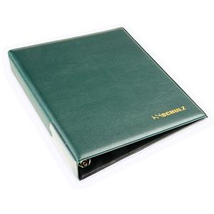 Schulz Münzalbum für 200 Stück 2 Euro Münzblatt Sammelalbum (grün)