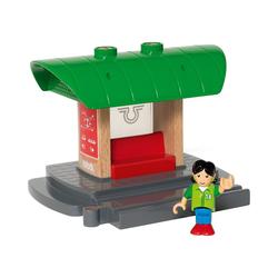 BRIO® Spielzeug-Eisenbahn Bahnhof mit Aufnahmefunktion