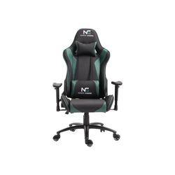 ebuy24 Gaming-Stuhl Nordic Gaming Racer Gamin Stuhl schwarz und grün.