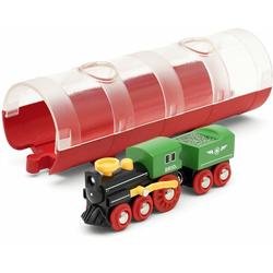BRIO® Spielzeug-Eisenbahn Tunnel Box Dampflokzug