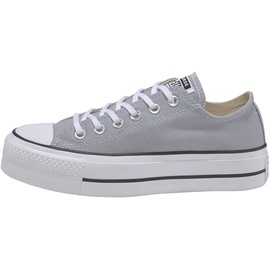 Converse Chuck Taylor All Star Platform Seasonal Low Top wolf grey/white/black 40