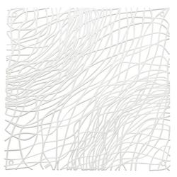KOZIOL Raumteiler Silk 4-tlg. Weiß