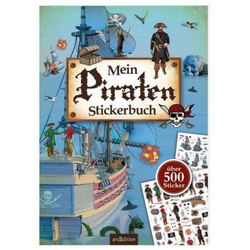 Mein Piraten-Stickerbuch