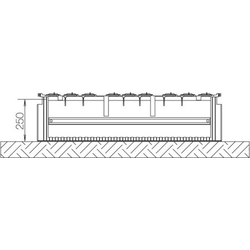 ABN Braun Festplatzsockel Gr.2 FB4 f.Bodenaufbau SX022F
