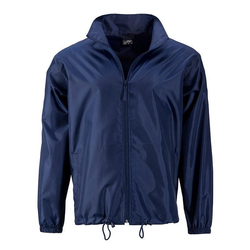Herren Windbreaker | James & Nicholson navy XXL