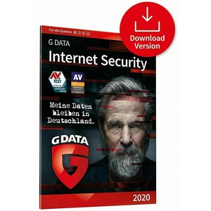 G DATA Internet Security 2020 Download Key für 3  Geräte und 1 Jahr