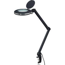 TOOLCRAFT TO-6394503 LED-Lupenleuchte Schwarz 5  127mm mit Klemmhalterung 3D 1.75x