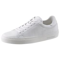 Bruno Banani Sneaker aus hochwertigem Leder weiß 45