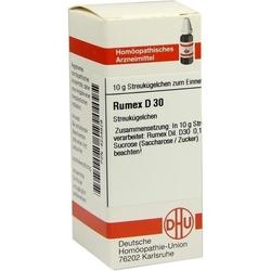 RUMEX D 30 Globuli 10 g