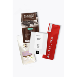 Aus unserer Werbung Kaffee Testsieger Probierpaket