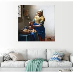 Posterlounge Wandbild, Das Milchmädchen 60 cm x 60 cm