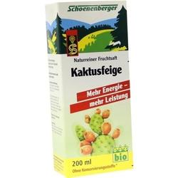 KAKTUSFEIGE Saft Bio Schoenenberger 200 ml