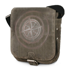 Bull & Hunt Messenger Bag speed grau