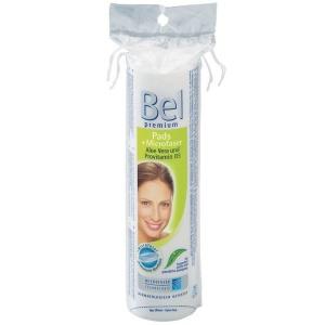 Bel Premium Wattepads Mikro, rund, aus Baumwolle und Microfasern, 1 Beutel = 75 Stück
