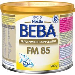 NESTLE BEBA FM 85 Frauenmilchsupplement Pulver