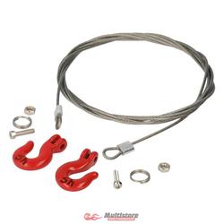 Robitronic Stahlseil mit Schwerlasthaken / R21037