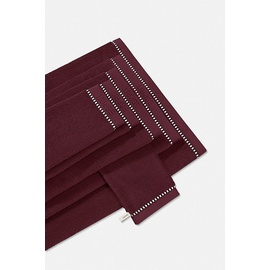 Esprit Box Solid Handtuch (2x50x100cm) mulberry