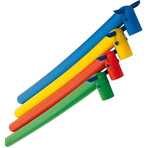 Beco Schwimmnudel in Pferdeoptik, Schaumstoff, biegbar, Kindergröße Blau blau