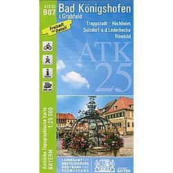 Amtliche Topographische Karte Bayern Bad Königshofen - Buch
