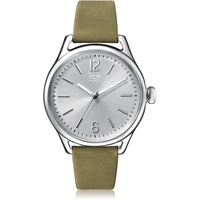 ICE-Watch - ICE time Khaki Silver - Women's wristwatch with leather strap - 013070 (Small)