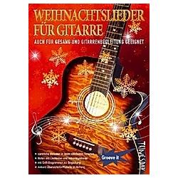 Weihnachtslieder für Gitarre - Buch
