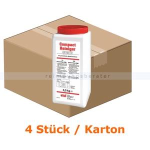 Spülmaschinenreiniger etolit Compactreiniger 5000 KARTON Karton mit 4x 3,3 kg Dose, hochkonzentrierter Reiniger