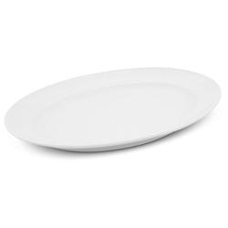 Walküre Porzellan Tortenplatte Platte oval, 30,5cm Buffet Weiß Walküre Porzellan