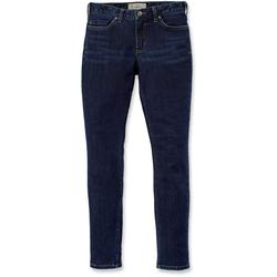 Carhartt Rugged Flex Slim-Fit Layton Skinny Ladies Pants, blue, Größe 41 42 für Frauen