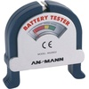 Ansmann Batterietester Check-It Messbereich (Batterietester) 1,2 V, 1,5 V, 3 V, 9V Akku, Batterie 40