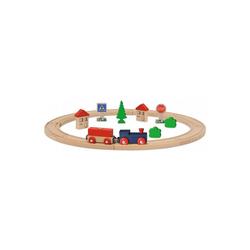 Eichhorn Spielzeugeisenbahn-Set Eisenbahn - Set, Kreis mit Zubehör, 20 tlg.