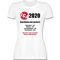 Shirtracer T-Shirt Bauchladen war gestern! 2021 - JGA Junggesellenabschied Männer - Damen Premium T-Shirt - T-Shirts bauchladen S