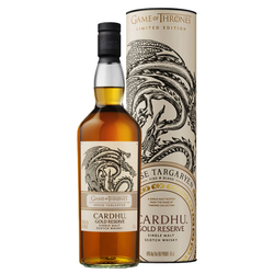 Cardhu Gold Reserve GoT Whisky House Targaryen