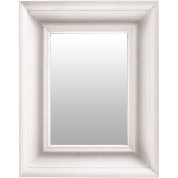 Wandspiegel »Scott 125« ( 1-tlg), Spiegel, 34765564-0 weiß (B/H/T): 36,5/5,2/45,5 cm weiß