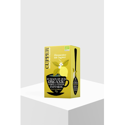 Cupper Tea Zitronentee mit Ingwer Bio 20 Teebeutel