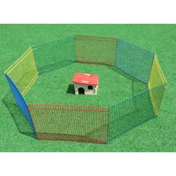 Freigehege Kleintiergehege Roberto für Hamster 8 Elemente 34 x 23 cm inkl. Nagerhaus