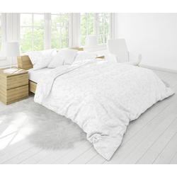 Bettwäsche Damast, Traumschloss, Ranken 1 St. x 200 cm x 200 cm