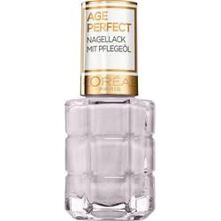 L'ORÉAL PARIS Nagellack Age Perfect, Mit Pflegeöl weiß
