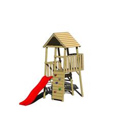 Holz Kletter- und Spielturm Hase natur, 110x260x270 cm