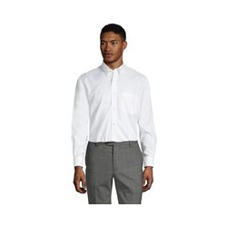 CLASSIC FIT. Buttondown-Kragen. Oxfordhemd - 42 84 - Weiß