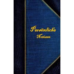 Persönliche Notizen (Notizbuch) als Buch von Luisa Rose