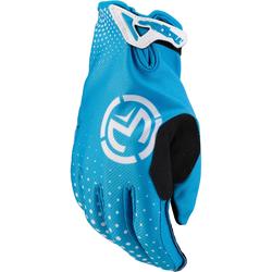 Moose Racing SX1 S20Y Short Youth Motocross Gloves, black-blue, Größe M