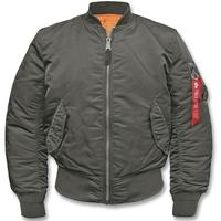 Alpha Industries MA1 Bomberjacke repl.-grey, Größe S