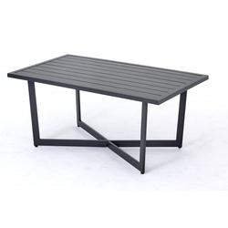 Gartentisch Outdoor grau Outdoor 250001343 (BHT 110x47x62,5 cm) Outdoor