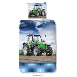 Bettwäsche TRAKTOR, good morning, cooler Traktor-Druck