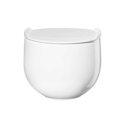 ASA SELECTION Vorratsdose Grande mit Plastikdeckel Keramik Ø 9.5 cm, Keramik, (1-tlg)