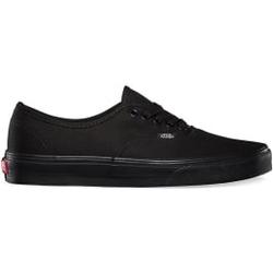Vans - Authentic Black/Black - Sneakers - Größe: 9,5 US