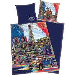 Jugendbettwäsche Paris, mit Paris Motiv 1 St. x 155 cm x 220 cm