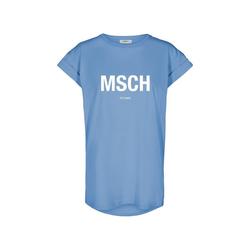 Moss Copenhagen T-Shirt Moss Copenhagen - ALVA TEE - T-Shirt MSCH print, blau-weiß M